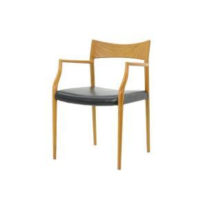 CHLOROSクロロス 【生産終了】【在庫限り】【30%OFF】Black Cat アームチェア【ダイニングチェア デスクチェア パソコンチェア 椅子|ruskea