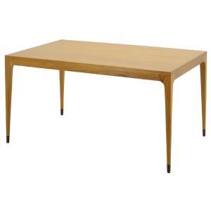 CHLOROSクロロス Antelope Leg ダイニングテーブル 140cm【ダイニングテーブル 北欧家具 デザイン チーク無垢材 チーク材 天然|ruskea