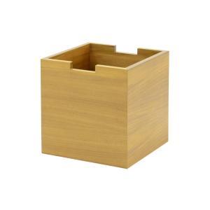 CHLOROSクロロス スクエアボックス for Sharp Edge【収納ボックス BOX キューブ おもちゃ箱 北欧家具 デザイン チーク無垢材|ruskea