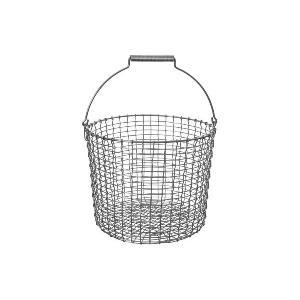 KORBOコルボ ワイヤーバスケット Bucket 20 アシッドプルーフ【北欧雑貨 かご スウェーデン ハンドメイド おしゃれ|ruskea