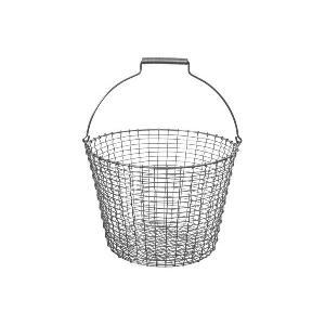 KORBOコルボ ワイヤーバスケット Bucket 24 アシッドプルーフ【北欧雑貨 かご スウェーデン ハンドメイド おしゃれ|ruskea