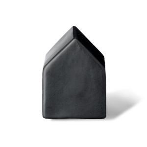 Bloomingvilleブルーミングヴィル 家の形をした置物 Lサイズ ブラック【北欧雑貨 小物 置物 インテリア 陶磁器 おしゃれ リビング雑貨 ruskea