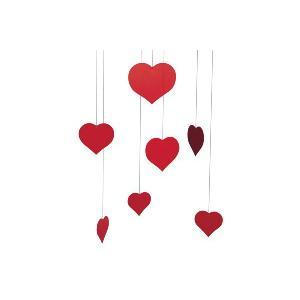 FLENSTED mobilesフレンステッドモビール 北欧デンマークモビール Valentine Happy Hearts バレンタイン【北欧雑貨|ruskea