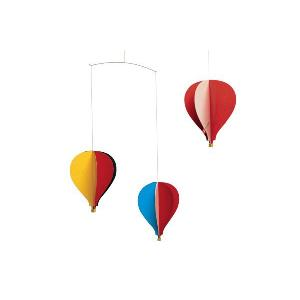 FLENSTED mobilesフレンステッドモビール 北欧デンマークモビール Balloon Mobile 3 バルーン気球【北欧雑貨 インテリア|ruskea