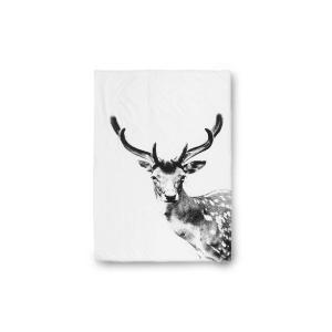 by nord ベッドリネン/掛け布団カバー シングルサイズ(140×200cm) Deer【北欧雑貨 デンマークブランド モダン コットン おしゃれ|ruskea