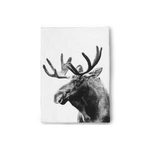 by nord ベッドリネン/掛け布団カバー ダブルサイズ(200×200cm) Moose 【北欧雑貨 デンマークブランド モダン コットン おしゃ|ruskea