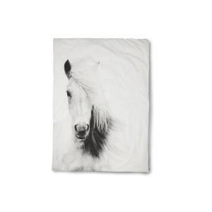 by nord ベッドリネン/掛け布団カバー ダブルサイズ(200×200cm) Horse【北欧雑貨 デンマークブランド モダン コットン おしゃれ|ruskea