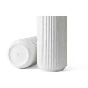Lyngby Porcelain(リュンビュー・ポーセリン) ベース 38cm ホワイト【北欧雑貨 フラワーベース 花 ruskea