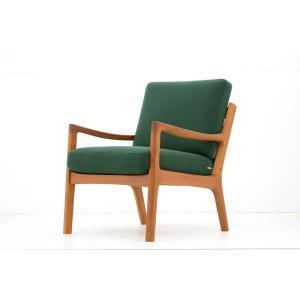 Ole Wanscher(オーレ・ヴァンシャー) Model169 シングルソファ チーク材 France & son デンマーク製 北欧家具ビンテー|ruskea