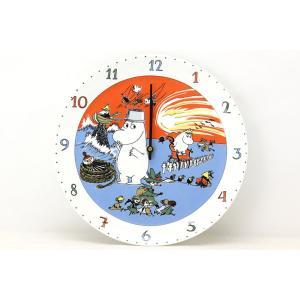 廃盤品 ARABIA アラビア Mumin ムーミン キャラクター掛時計【北欧雑貨 ビンテージ雑貨 アンティーク品 Arabia アラビア ムーミン|ruskea