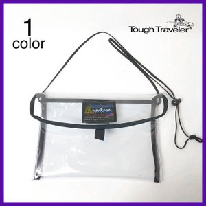 バッグ Tough Travaeler(タフトラベラー)FLAP NECK POUCH L CLEAR|rusty-to-shine