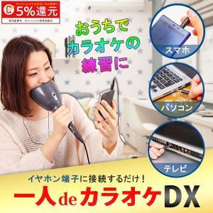 カラオケマイク 機器 セット 一人deカラオケDX 1人 AX-021 1人でカラオケ 家庭用
