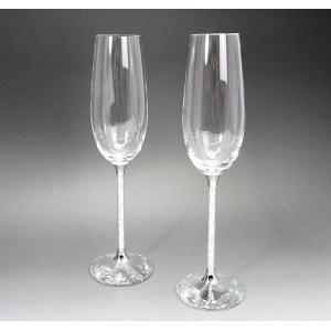 【商品詳細】 【素材】クリスタルガラス×メタル 【サイズ】口径:約4.0cm高さ:約26.0cm 【...