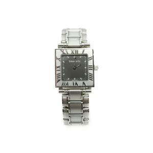 送料無料 TIFFANY&Co. ティーファニ― アトラス スクエアクォーツ腕時計 中古
