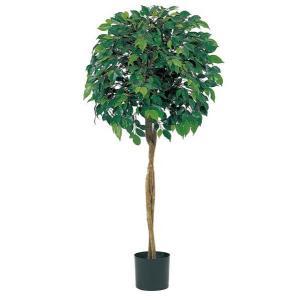 人工観葉植物 120cm フィカスツリー(ナチュラルトランク) [LETR7464]|ryoccadou