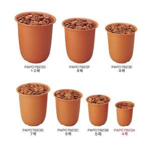 装飾資材 ペールポット(ガーデンバーグ付き4号) 植木鉢 ベース[PAPO7823A] ryoccadou
