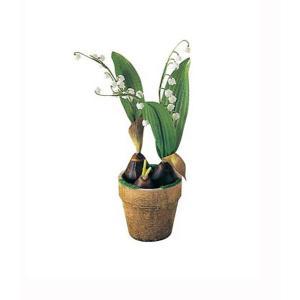 造花 花 フラワー スズラン球根ポット 人工観葉植物 鉢花 FLGD1662|ryoccadou