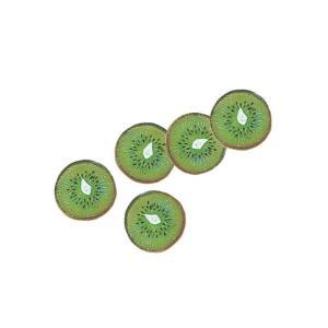 店舗装飾 50mm キウイスライス(5個) 食品サンプル フルーツ[DIFV7960]|ryoccadou