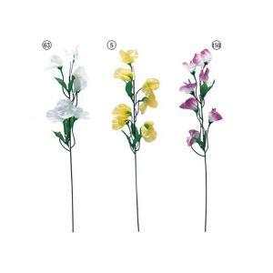 造花 花 フラワー スイートピー(7) 人工観葉植物 花束 FLSP1085|ryoccadou