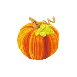 ハロウィン装飾 HALLOWEEN 20cm ベルベットスウィートパンプキン[DIMI51022]|ryoccadou