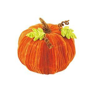 ハロウィン装飾 HALLOWEEN 30cm ベルベットスウィートパンプキン[DIMI51023]|ryoccadou