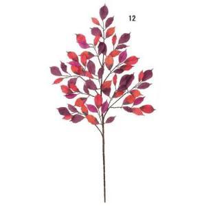 オータム リーフ ブランチ オータムバーチスプレイ 造花 フラワー[LESP5670]|ryoccadou