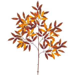 オータム リーフ ブランチ クリスプレイ(105)造花 フラワー[LESP5154]|ryoccadou