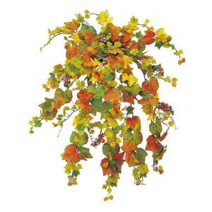 オータム リーフ 造花 グレープブッシュ(476/実付き) 人工観葉植物[LEBU5138]|ryoccadou