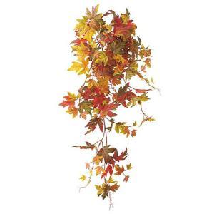 オータム リーフ 造花 オータムメープルブッシュ(155)人工観葉植物[LEBU5599]|ryoccadou