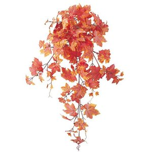 オータム リーフ 造花 フロストメープルブッシュ(155)人工観葉植物[LEBU5573]|ryoccadou