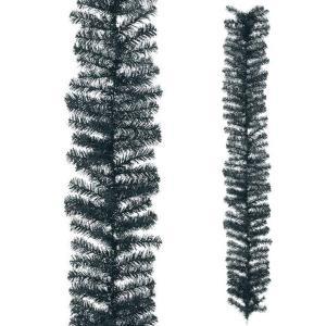 ハロウィン装飾 HALLOWEEN 25cm幅 ブラックノーブルパインガーランド[PAGA6952]|ryoccadou