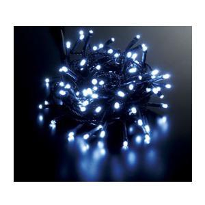 耐水100球広角型ネオLEDホワイトライト/ブラックコード常...