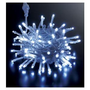 耐水100球広角型ネオLEDホワイトライト/1ホワイトコード...