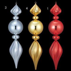 クリスマス装飾 ツリー 9 0cmシャイニーマットラージフィニアル[DIFN6844] ryoccadou