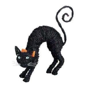 ハロウィン装飾 HALLOWEEN 70cmブラックキャット デコレーション[DIHL5008]|ryoccadou
