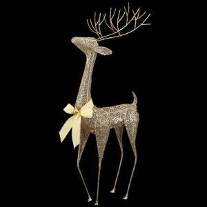 クリスマス装飾 ツリー 90cmシャンペーンゴールドビューティレインディア[DIRE6953] ryoccadou