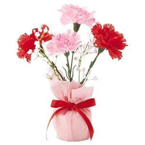 母の日 カーネーションポット(1) MOTHER'S DAY 造花 人工観葉植物[FLGD1681] ryoccadou