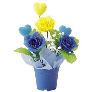父の日 ローズポット(1) FATHER'S DAY 飾り 造花 人工観葉植物[FLGD3685]|ryoccadou
