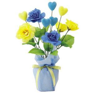 父の日 ローズポット(2) FATHER'S DAY 飾り 造花 人工観葉植物[FLGD3686]|ryoccadou