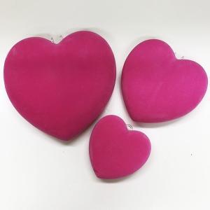 フロックハート 装飾デコレーション 【SALE】3点セット 現品限り[sale-heart]|ryoccadou