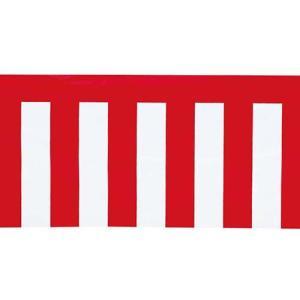 イベント装飾 のぼり ペナント 40x360cm ポリ紅白幕 パーティ[SPFL7006]|ryoccadou