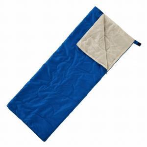 封筒型 シュラフ 寝袋 ファスナー 連結可能 丸洗いOK 収納袋付 緊急用としても