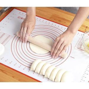 キッチン クッキング シリコン マット パッド シート パン ケーキ クッキー お菓子 目盛付