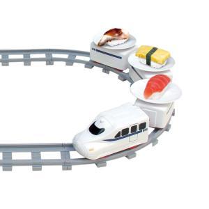 回転寿司トレイン すし 電車 おもちゃ  お寿司を運ぶ 回る お寿司屋さん ごっこ 受け皿6枚付き