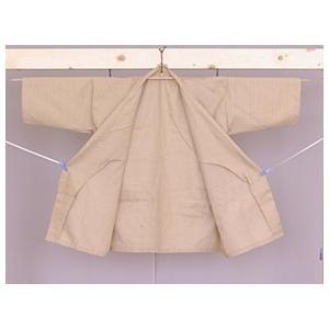 業務用仕様 作務衣 ベージュ TCバニラン Lサイズ ryokan-yukata 06