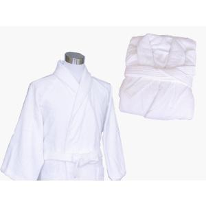中国製 高級バスローブ 白 五つ星ホテル仕様 業務用|ryokan-yukata