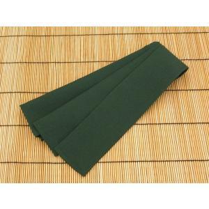 旅館浴衣帯 厚地ポリエステル グリーン 7×240cm|ryokan-yukata