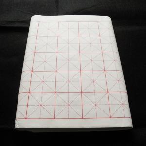 米字格 罫入り 画仙紙 50格 34-70cm 100枚 ryokufuu