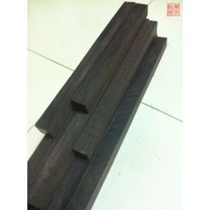篆刻用 印材 黒檀木 木製印 30-2.5-2.5cm|ryokufuu