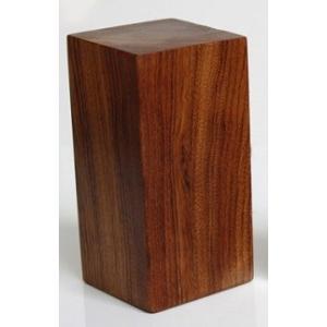 篆刻用 印材 紅木 カリン 木製印 3-3-6cm|ryokufuu
